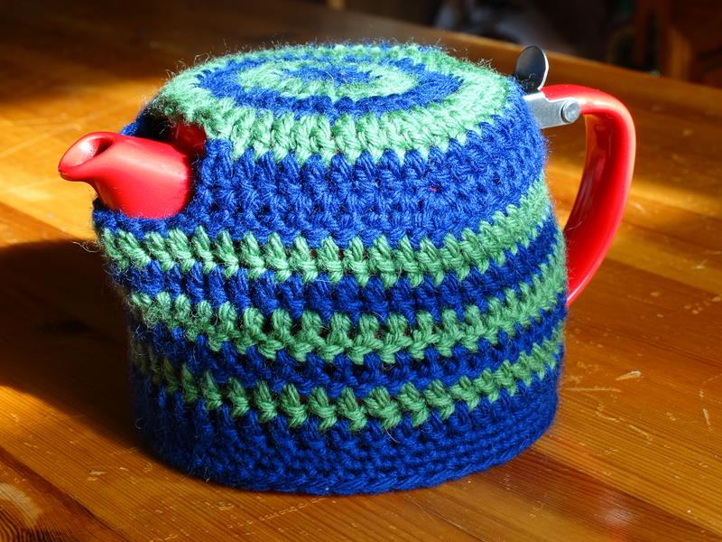 Stump Teapot Cosy (Crochet)